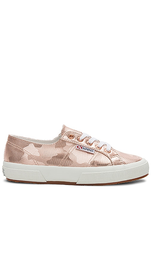 Superga 2750 Army Chromw Sneaker in Pink