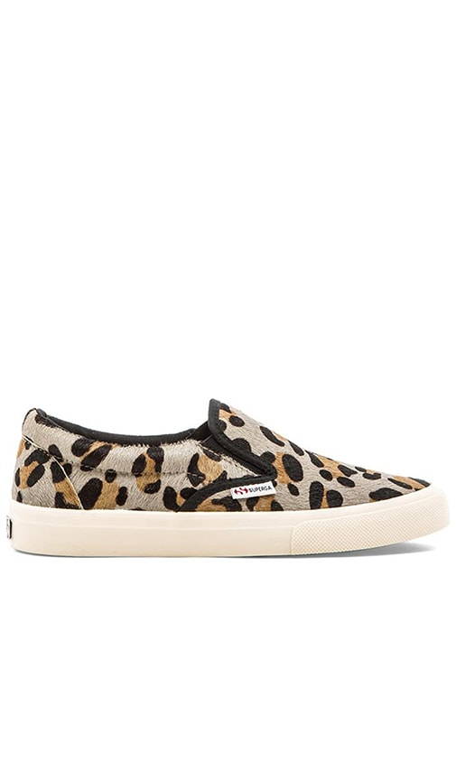 Slip On Cow Hair Sneaker