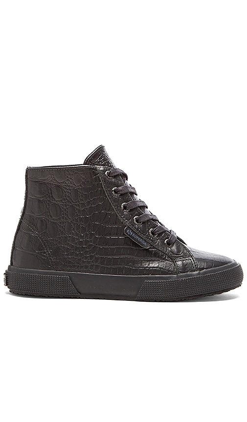 Crocodile Hi Top Sneaker