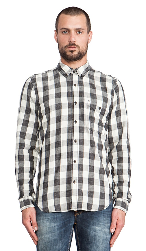Oxford Check Button Up