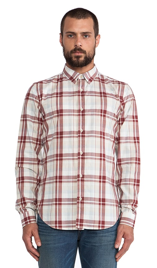 Oversized Plaid Button Up