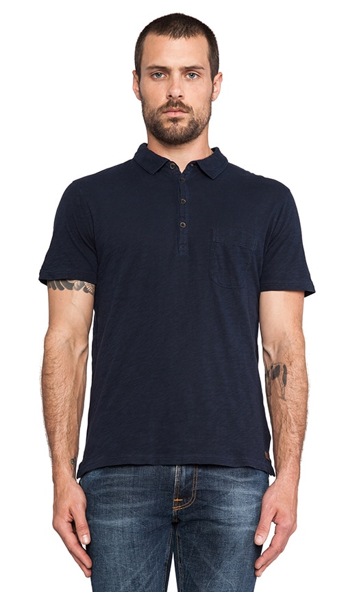 Lightweight Slub Polo