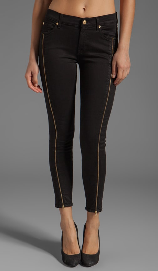 The Cropped Skinny with Side Zips