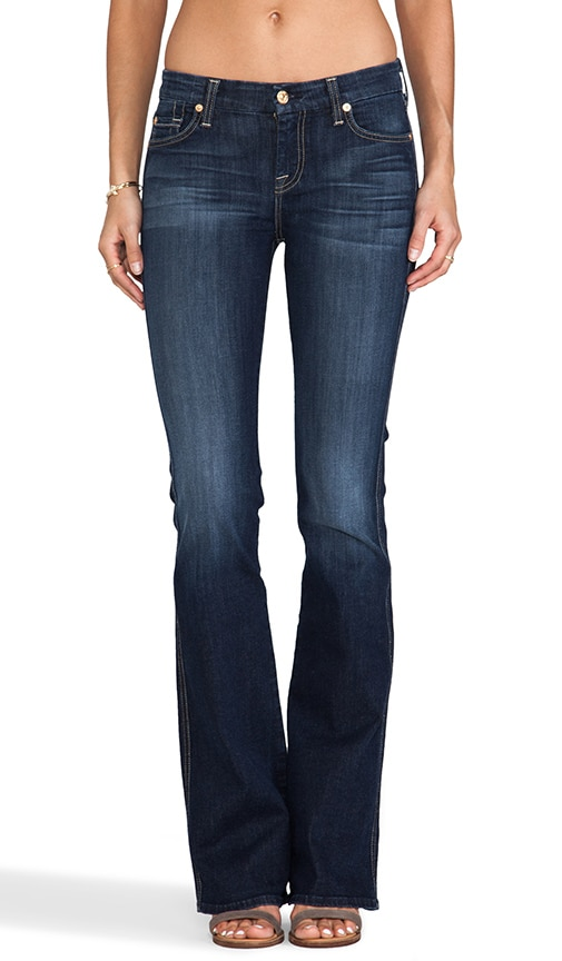 Slim Illusion Boot Cut w/ Embellished Pockets