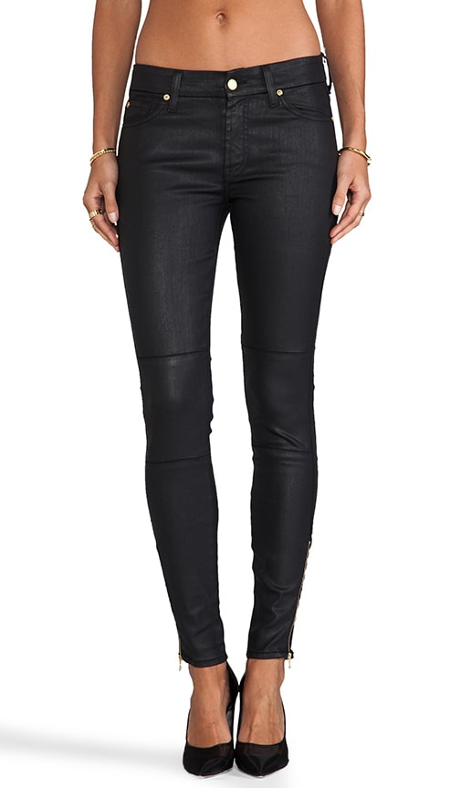 The Seamed Skinny w/ Ankle Zips
