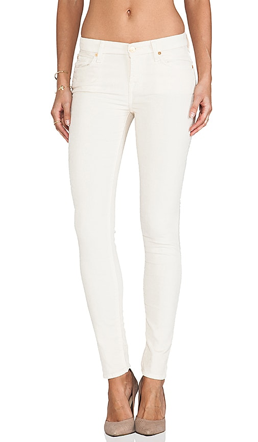 7 For All Mankind The Skinny in Cream