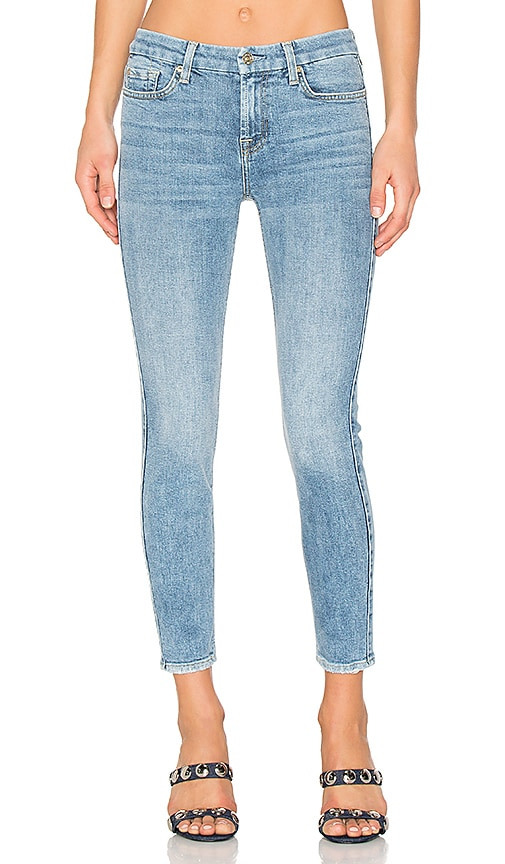 7 For All Mankind The Ankle Skinny in Gold Coast Waves 4