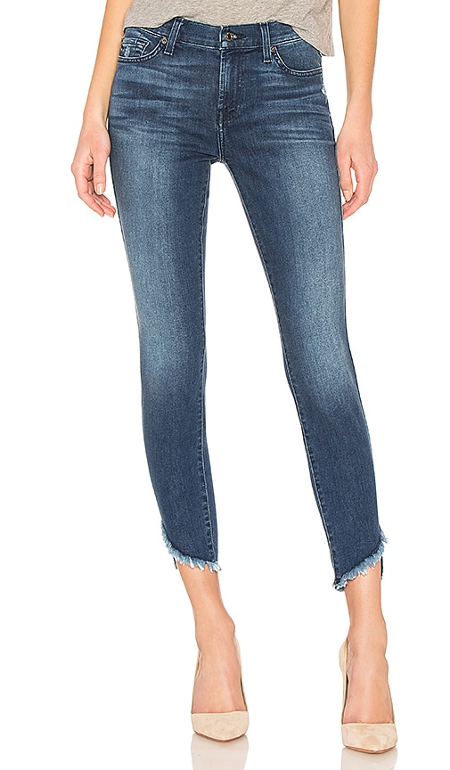 The Ankle Released Hem Skinny. - size 25 (also in 24,26,27,29,30) 7 For All Mankind