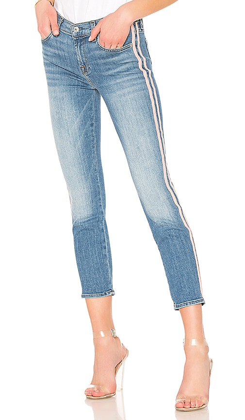 7 For All Mankind Roxanne Ankle Jean in Vintage Blue Dunes