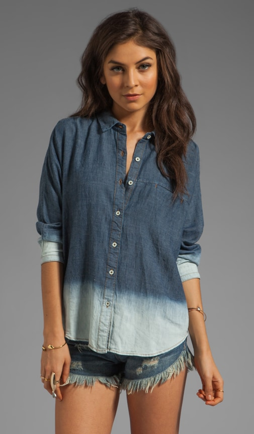 Dolman Denim Shirt