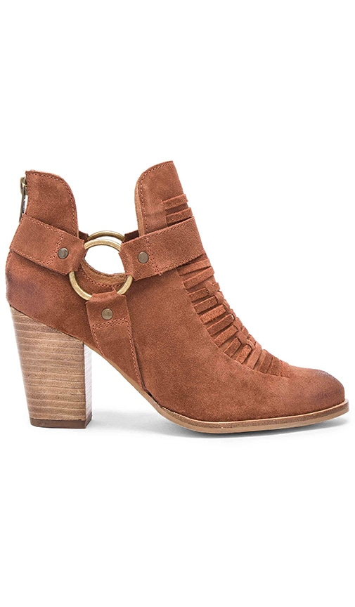 Seychelles Impossible Booties in Cognac
