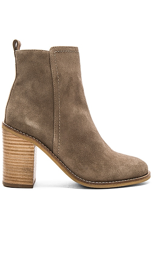 Seychelles Lounge Booties in Taupe