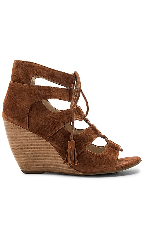 Seychelles Delirious Wedge in Brown