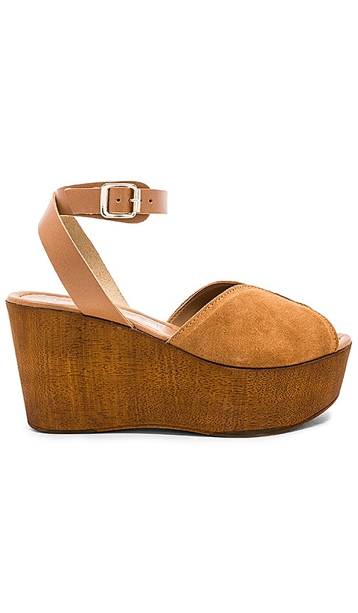 Seychelles Laugh More Wedge in Tan