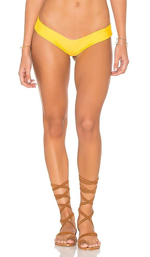 Stone Fox Swim Tucker Bottom in Yellow