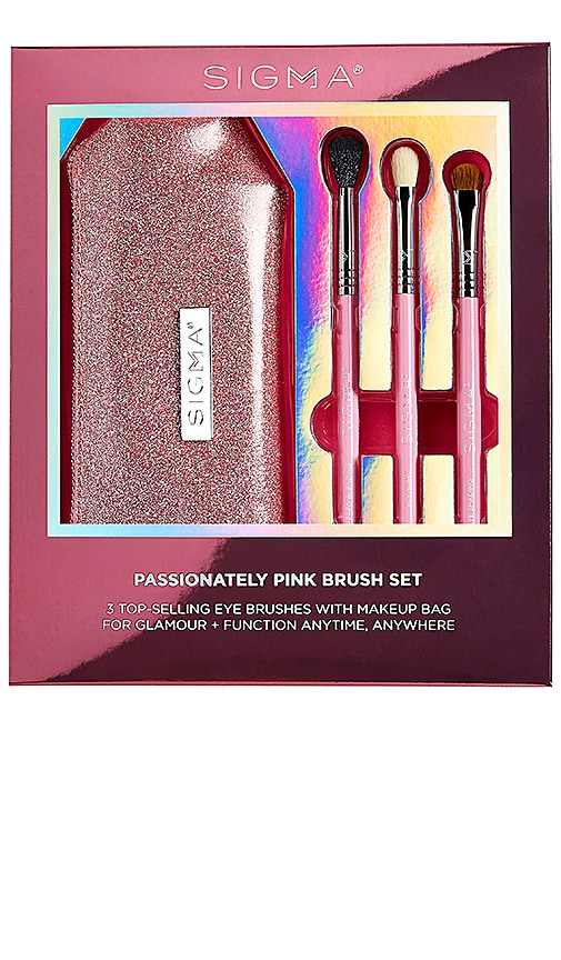 Passionately Pink Brush Set Sigma Beauty