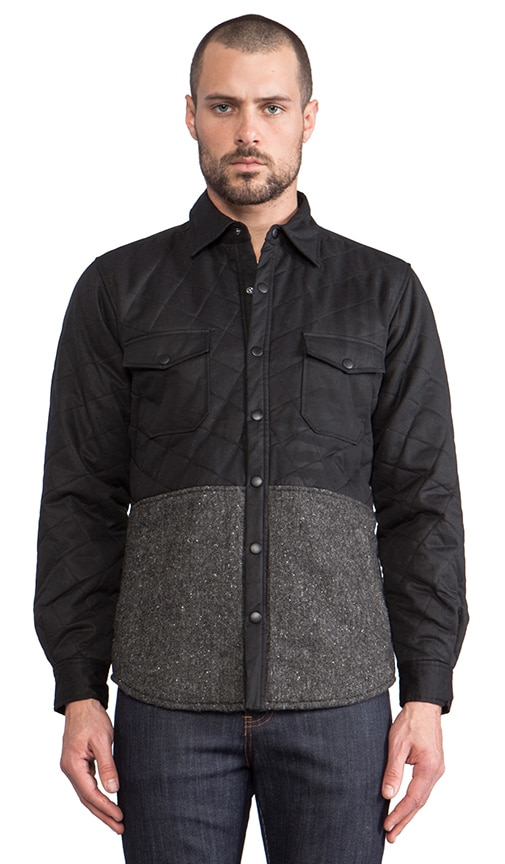 Quilted Shirt Jacket