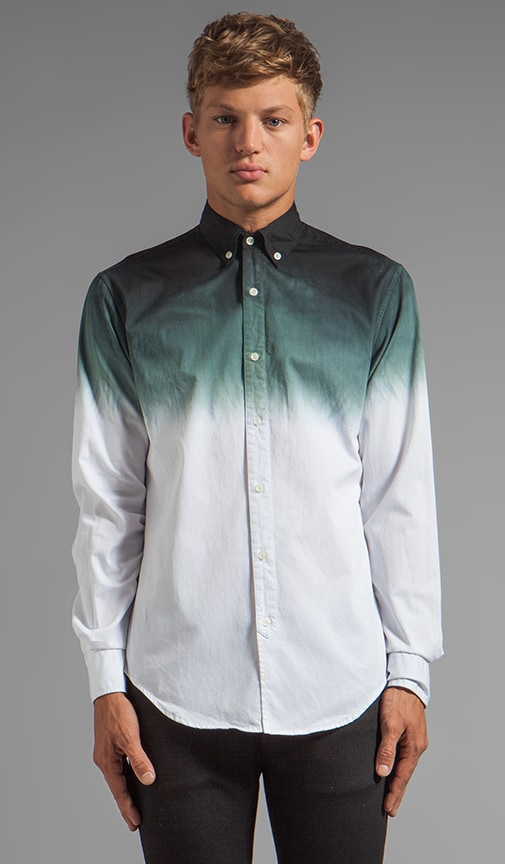 Dip Dye Button Down