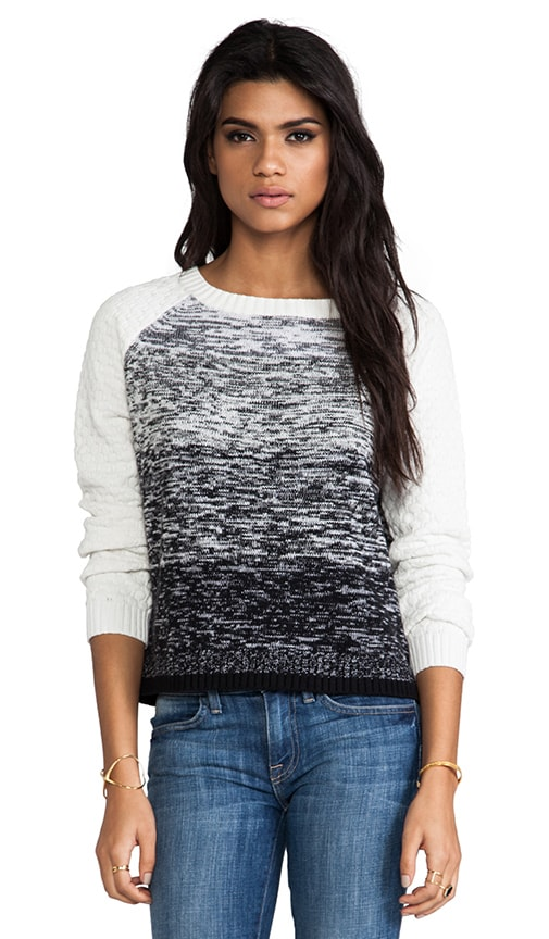 Ombre Marl Pullover