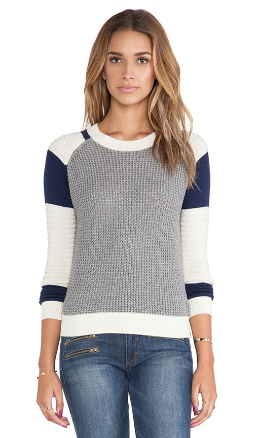 Stitchy Moto Pullover