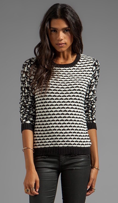 Mixed Jacquard Pullover