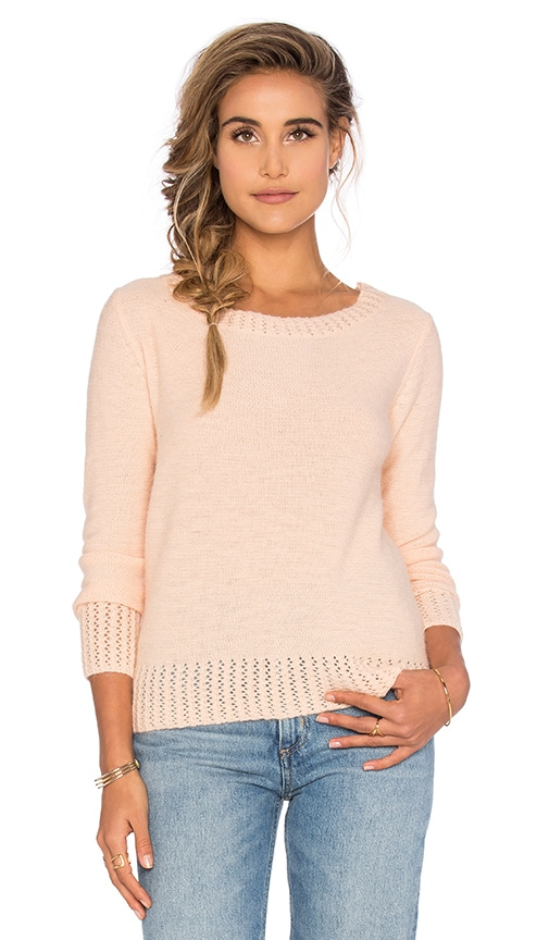 Sasha Ruched Back Sweater