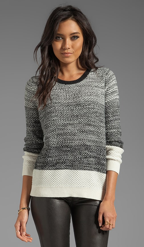 Moss Stitch Pullover