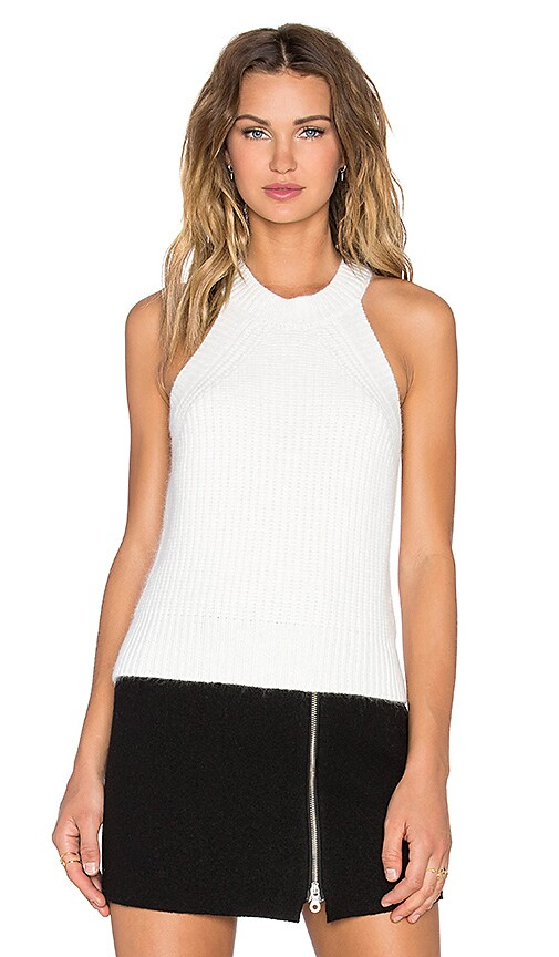 SHAE Laney Sleeveless Tank in White