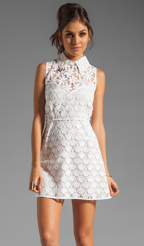 New Romantics Collared Party Dress