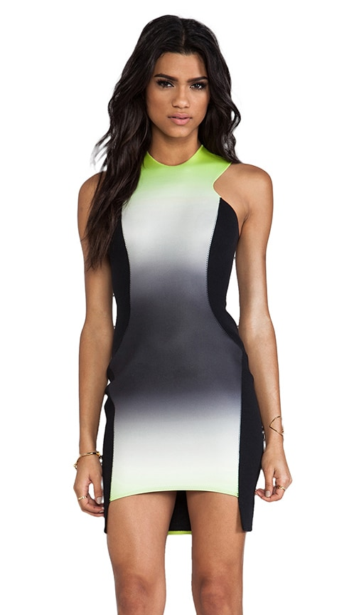 Neoprene Body Con Dress