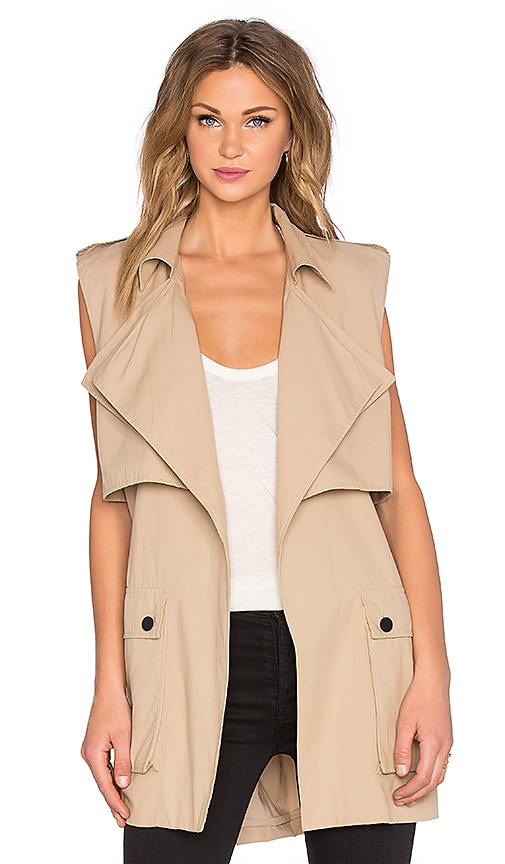 Out Of Africa Sleeveless Trench