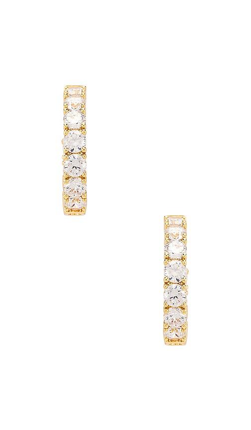 Stella Diamond Hoop Earring