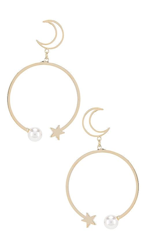 Mona Moon Drop Earrings