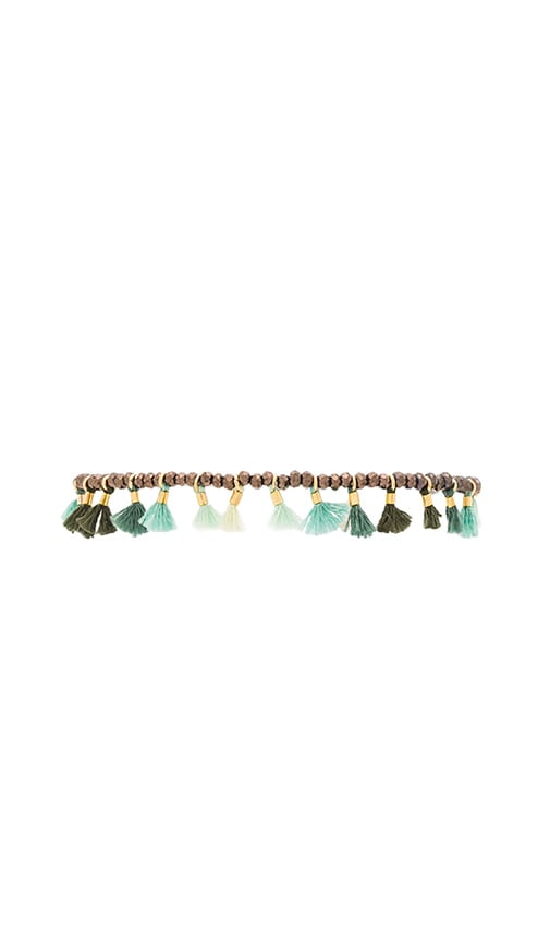 SHASHI Jamie Bracelet in Green