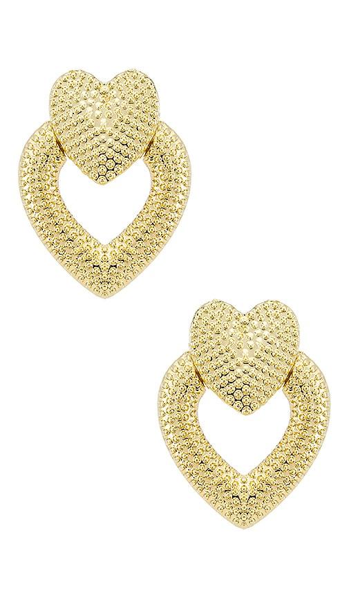 Heart Knocker Earrings