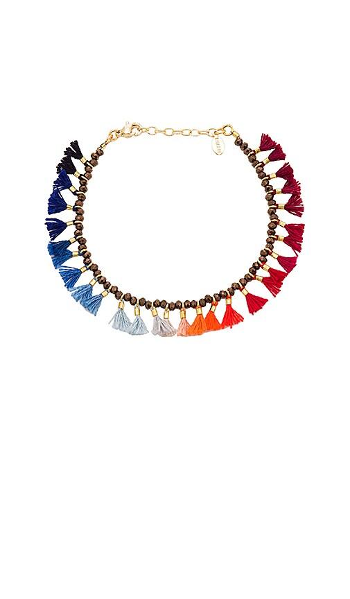 SHASHI Jamie Bracelet in Metallic Gold