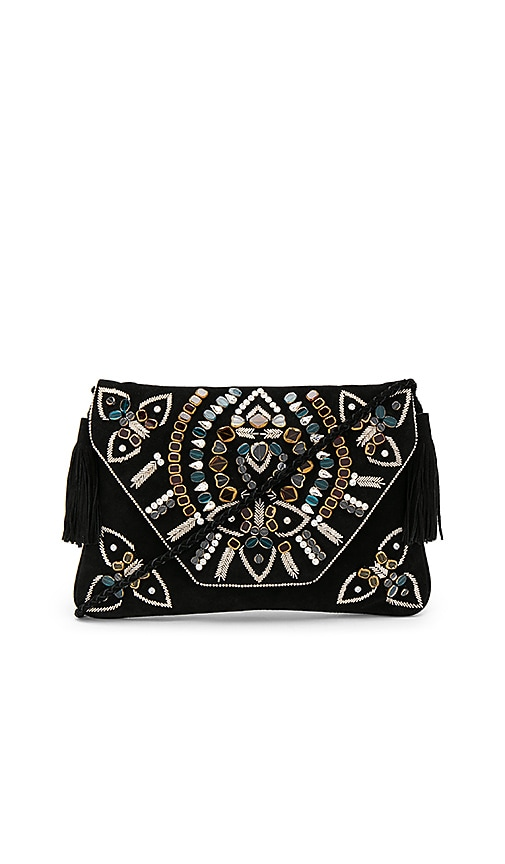 SHASHI Miranda Crossbody in Black