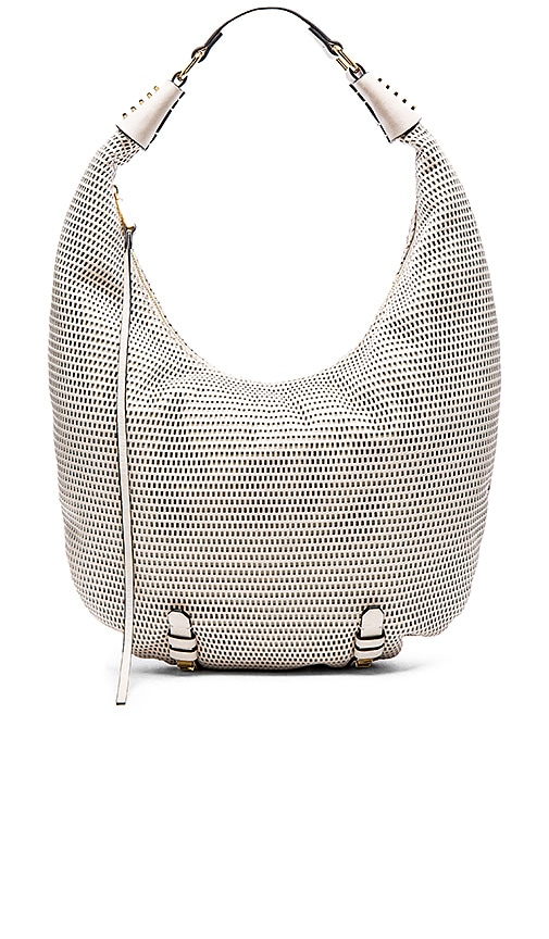 she + lo Silver Linings Long Hobo in Nude