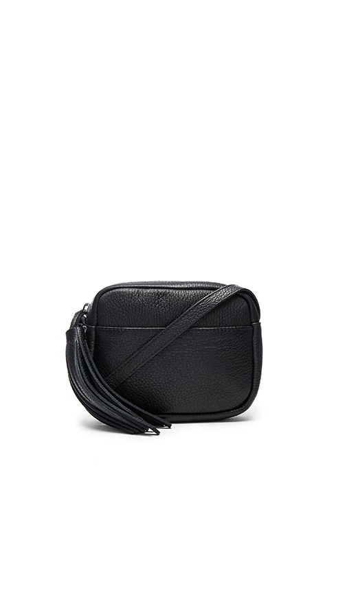 Shaffer Stephanie Crossbody Bag in Black