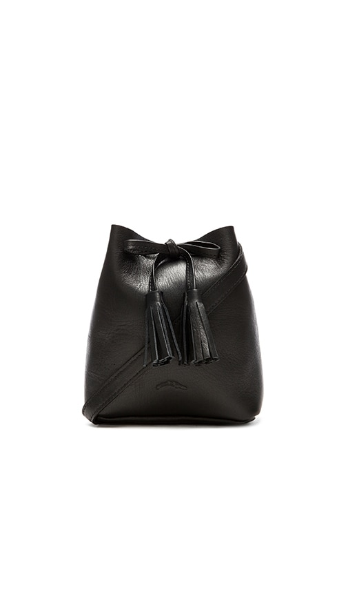 Shaffer The Greta Bucket Bag in Black
