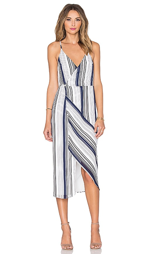 Stratos Wrap Dress