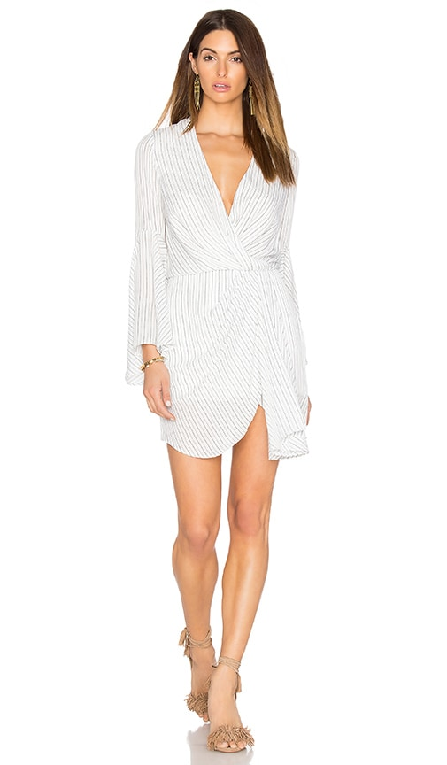 Shona Joy Adeline Draped Mini Dress