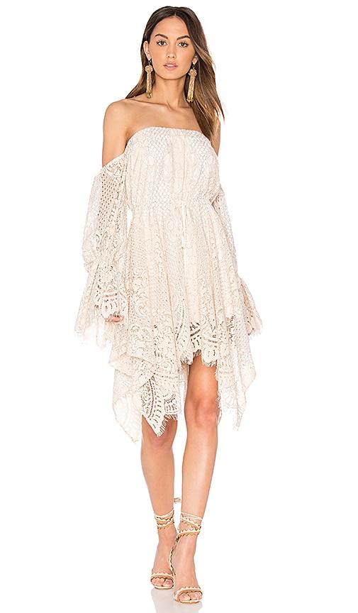 Handkerchief Mini Dress