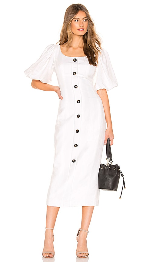Gaia Fitted Midi Dress