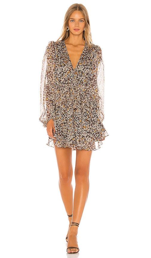 Garner Drawstring Mini Dress