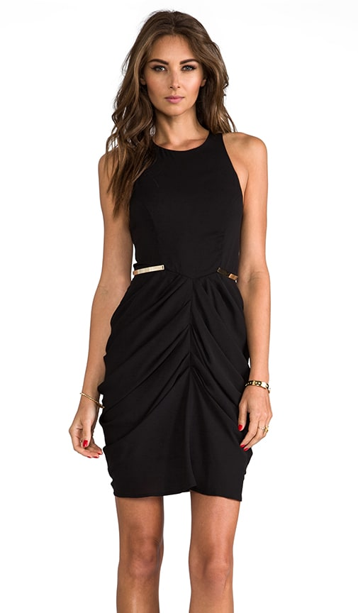 The Worshiped Draped Mini Dress
