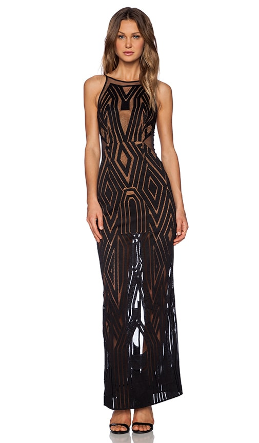 The Desired Backless Maxi Dress