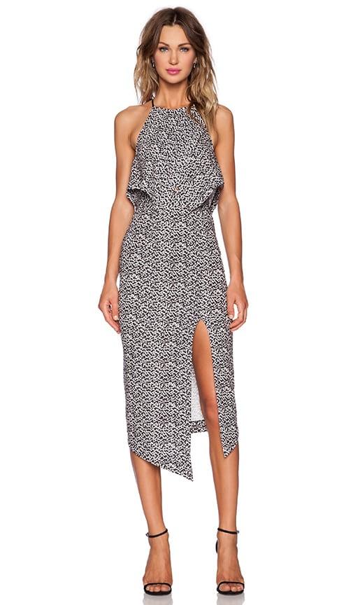 Shona Joy Theory Scarf Dress in Multi