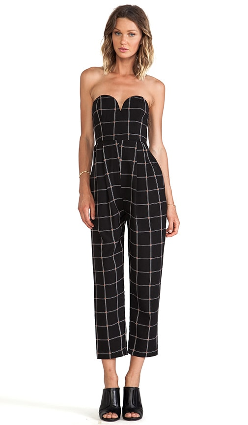 The Paralleled Bustier Jumpsuit