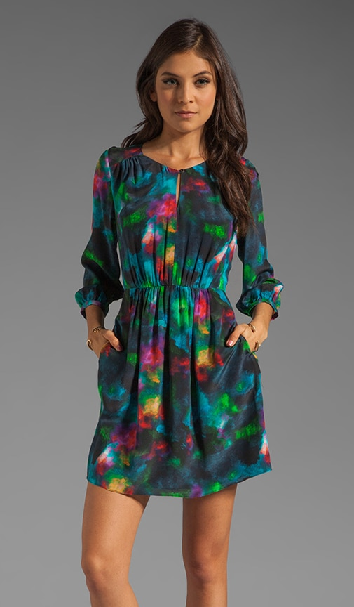 Celestial Watercolor Erika Dress